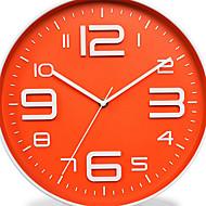Moderne/Contemporain Rustique Bureau / Affaires Nautique Vacances Mariage Horloge murale,Rond Nouveauté Métal Plastique Intérieur Horloge