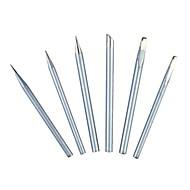 Sata žehlicí hlavice 50 W externí typ tepelného typu hroty dlouhý nůž řezací hlava / 1