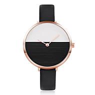 Mulheres Relógio de Moda Relógio de Pulso Relógio Casual Chinês Quartzo PU Banda Legal Casual Elegantes Preta Branco Azul