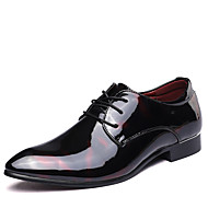 Miehet kengät Nahka Kevät Kesä Syksy Talvi Bullock kengät muodollinen Kengät Muotisaappaat Oxford-kengät Kävely Split Joint