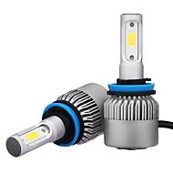 h11 ledヘッドライトは、変換キットの2つのPCと36W 3600ミリリットルbridgeluxのコブチップの霧のライトとヘッドライト電球を導いた