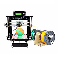 geeetech acryl Prusa dual head extruder MK8 ongemonteerd i3 kit 1.75mm filament 0.3mm nozzle