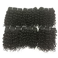 Человека ткет Волосы Бразильские волосы Кудрявый 18 месяцев волосы ткет