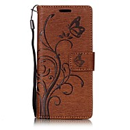 sony xperia xa xz用ケースカバーembossing pu leather case for sony xperia e5
