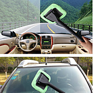 Car Wash Microfiber Windshield Wonder Cleaning Tool Car Glass and Home Window Cleaner Towel with Spary Bottle