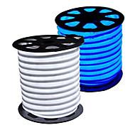 36W Гибкие светодиодные ленты 3350-3450 lm AC110 AC220 V 5 м 300 светодиоды Теплый белый белый синий