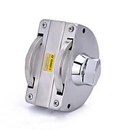 Déverrouillage de clé yl-6032 verrouillage de porte à verrouillage de porte à 2 portes à clé unique