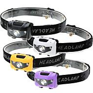 ヘッドランプ LED 500 ルーメン 4.0 モード LED 電池は含まれていません 3モード 防水 LEDライト 持ち運びが容易 緊急 スーパーライト ライトウェイト のために キャンプ/ハイキング/ケイビング 日常使用 サイクリング 狩猟 多機能 登山 屋外 釣り