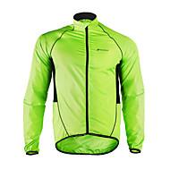 Nuckily Jachetă Cycling Bărbați Manșon Lung Bicicletă Jachetă Veste Haină ploaie TopuriConfortabil la umezeală Impermeabil Uscare rapidă