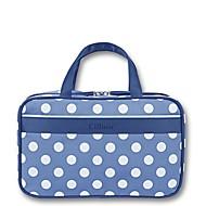 Damen Handgepäck Nylon Ganzjährig Normal Baguette Bag Reißverschluss Blau Weiß Rosa