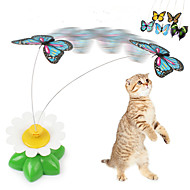 Игрушка для котов Игрушки для животных Дразнилки Бабочка