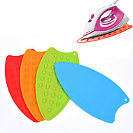 Multifunction Desktop Silicone Insulation Pad Anti-slip Mat Anti-scalding Heat Coasters Bowls Potholder (Random Color)
