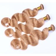 Précolorée Tissages Cheveux Cheveux Malaisiens Ondulation naturelle 12 mois 3 Pièces tissages de cheveux