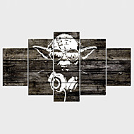 キャンバス地プリント 抽象画,5枚 キャンバス 横式 プリント 壁の装飾 For ホームデコレーション