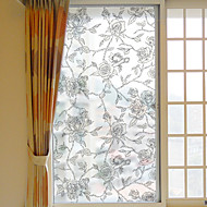 Kukka-aihe Ikkunatarra,PVC/Vinyl materiaali ikkuna Decoration