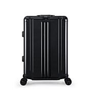 Uniseksna putna torbica pu abs + pc sva godišnja doba casual otvoreni pravokutni zatvarač srebrna crna