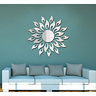Sunflower Sitting Room Bedroom Specular Adornment Wall Stickers