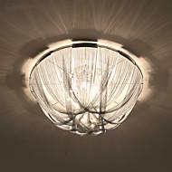 Postmoderní střapa hliníková řetězová lampa světlo luxusní atmosféra absorbovat dome světlo absorbovat dome světlo obývací pokoj hotelový