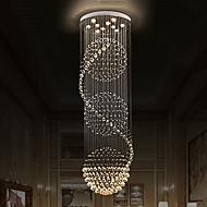 Lustres de plafond à cristal moderne Pendentifs intérieurs Lumières suspendues Lampes lumineuses
