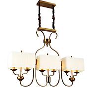 Závěsná světla ,  Tradiční klasika Starožitná mosaz vlastnost for Mini styl Kov Jídelna studovna či kancelář
