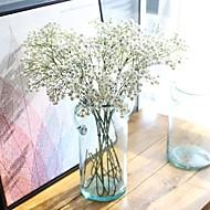 5 Dele 5 Afdeling Silke Polyester Brudeslør Bordblomst Kunstige blomster