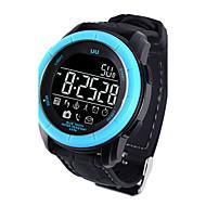 남성용 스포츠 시계 밀리터리 시계 드레스 시계 회중 시계 스마트 시계 패션 시계 손목 시계 독특한 창조적 인 시계 디지털 시계 중국어 디지털 달력 방수 경보 스피드오미터 만보기 대화 큰 다이얼 실리콘 밴드 참 뱅글 멋진 창의적 럭셔리 우아한