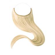 18 tuuman näkymättömästä langasta kääntyvä hiuslisäosa yksiosainen käsihihna 80g