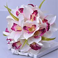 1 haara Muovi Ruusut Pöytäkukka Keinotekoinen Flowers
