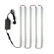 5Pack  LED Light Bars 50CM 5050 LED Tube Light Under Counter Fixtures 12V 5A Power Adapter for Showcase Cabinets