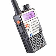 5w 128ch de rádio de duas vias walkie talkie baofeng uv-5re para caçar exibição dupla fm vox uhf vhf estação de rádio cb rádio