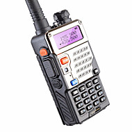 5w 128ch kaksisuuntainen radio walkie talkie baofeng uv-5re metsästykseen dual display fm vox uhf vhf radioasema cb radio
