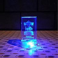 ハウス型 家族 誕生日 プラスチック 合成素材 アーティスティック コンテンポラリー クール ハロウィーン クリスマス 新年,シングル 装飾的なアクセサリー