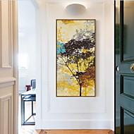 Abstraktní Olejomalba v rámu Wall Art,Dřevo Materiál s rámem For Home dekorace rám Art Obývací pokoj Jídelna Jeden díl
