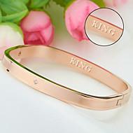 Titanium bracelet wholesale furnace rose gold bracelet wholesale Korea fashion accessories