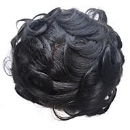 8x10inch mężczyzn wig torebki szwajcarska koronka naturalna remy wymiana włosów hairpiece