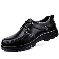 Miehet Oxford-kengät Sukelluskengät Comfort muodollinen Kengät Kevät Syksy Aitoa nahkaa Nahka Nappanahka Kausaliteetti Solmittavat