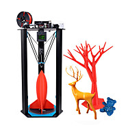 Impressora 3D Tevo Little Monster 340 * 340 * Extrusora 500mm titan 80% kit diy pré-montado com sensor de nivelamento automático bltouch