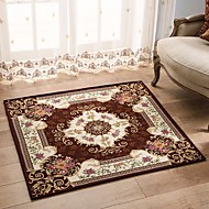 Tapete jacquard anti-derrapante de estilo europeu para tapete de tapete de quarto / sala de jantar