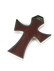 cruz grossos gótico pingente em aço inoxidável (lsp001)