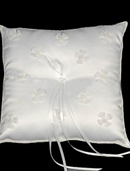 Sweethearts Forever Satin Wedding Ring Bearer Pillow R0819 (HSX523)