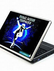 Michael Jackson Series Laptop Notebook Cover Protective Skin Sticker with Wrist Skins (SMQ3422)