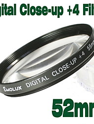emolux 52mm Close Up (+4) filtre (smq5569)