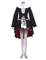 estilo lolita cosplay traje inspirado en la serie Haruhi Suzumiya Yuki Nagato