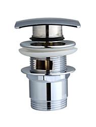 dreno de bronze clic-clac para lavatório (0572-nxc263)