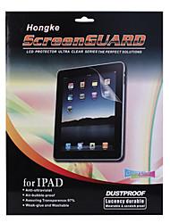 anti-ultraviolet LCD-scherm beschermer met reinigingsdoekje voor ipad, ipad 2 en de nieuwe ipad