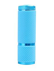 1-Mode 9-LED Flashlight (3x10440/3xAAA, Blue)