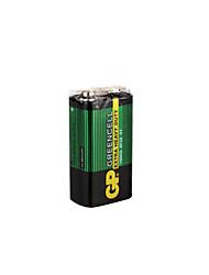 gp 9v 1604s/6f22 super batterie lourde cellulaire de service (gp 9v lourds)