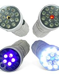 Lanterna com UV e Laser CSI 3 Modos com 15 LEDS