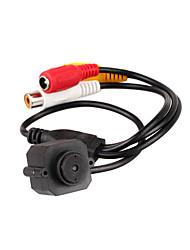 1 / 3 polegadas CMOS de cor de chips sensores mini câmera pinhole CCTV segurança com 380 linhas de TV (xhs023)