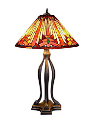 3-Light Village Tiffany Table Lamp (0923-XCDS009)